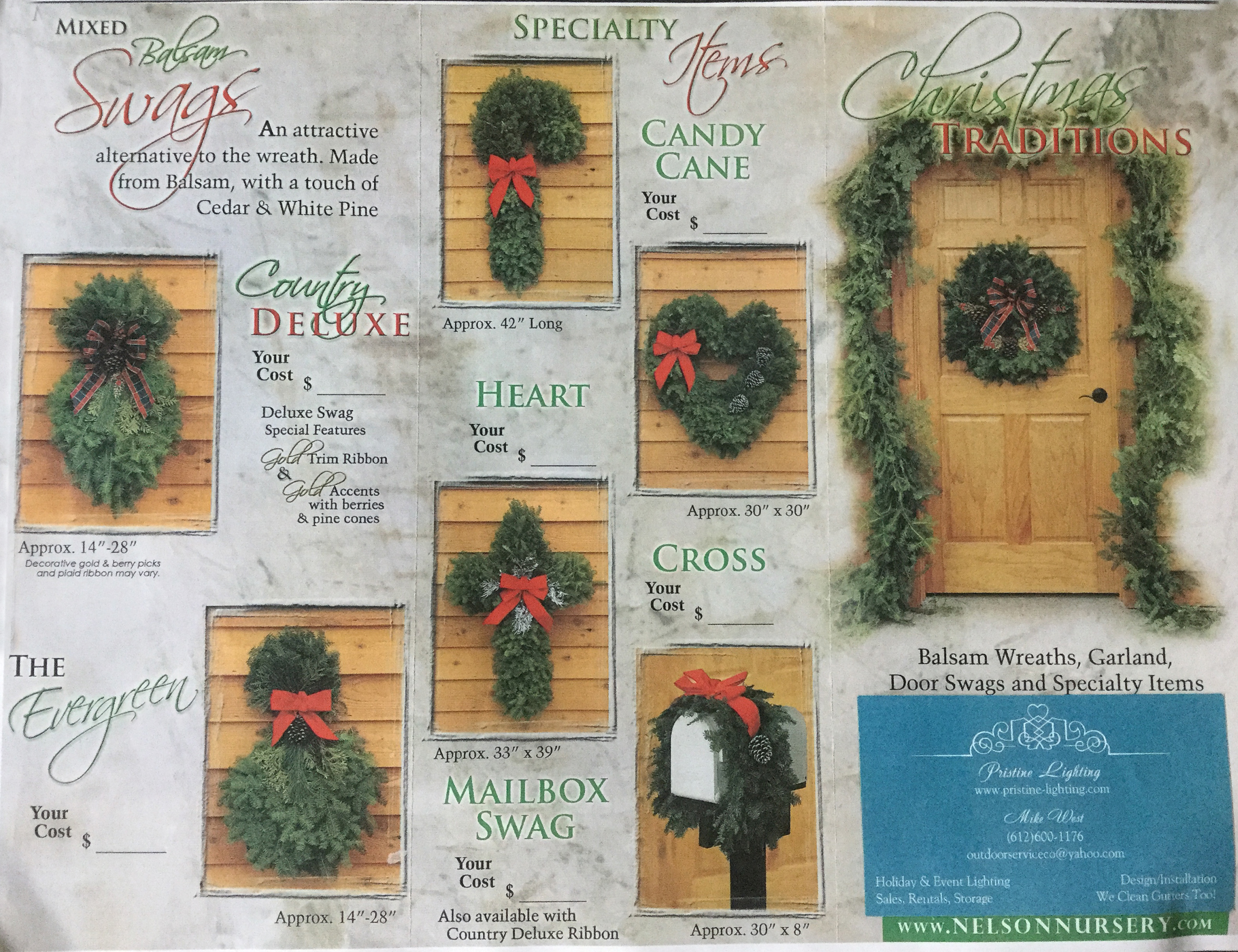 Christmas Greenery Fundraiser